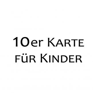 10er Karte Kinder